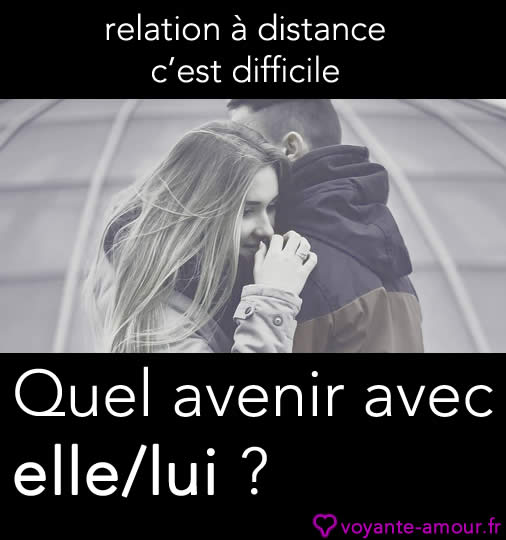 relation à distance difficile